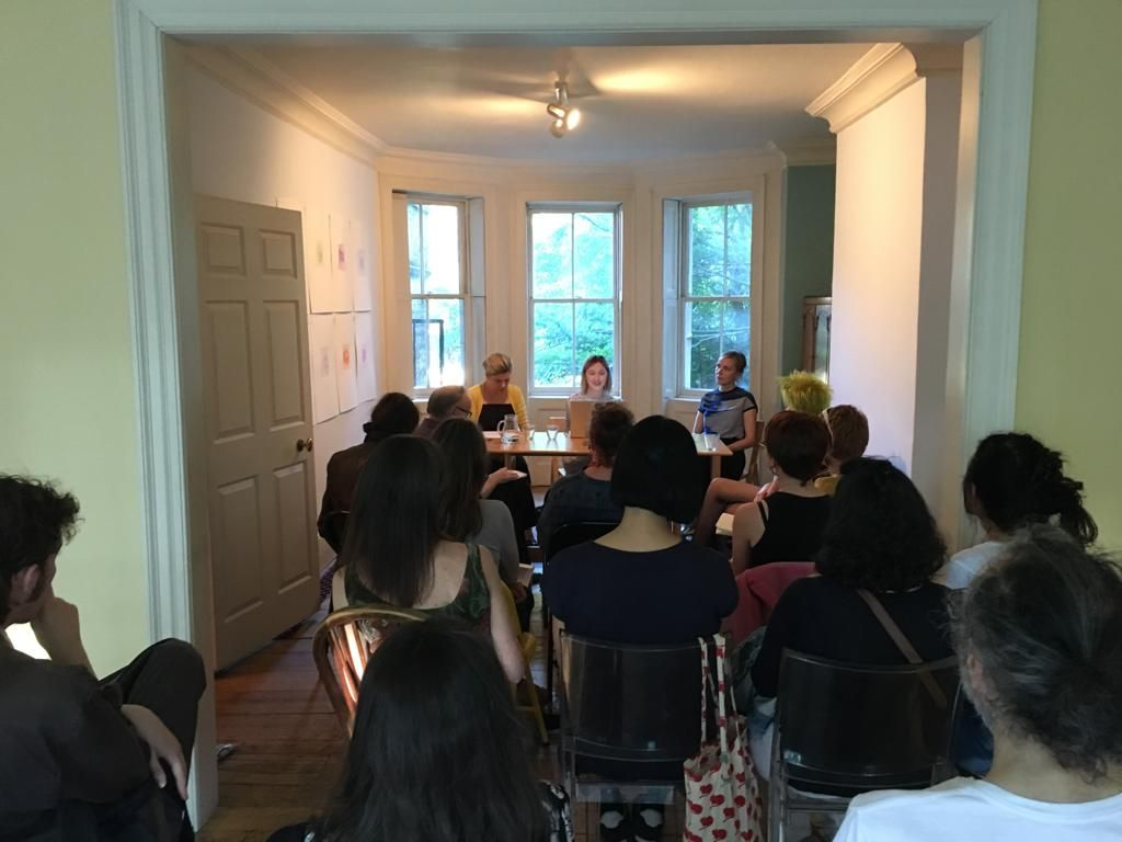 Sarah Woodfine and Kim L Pace in conversation with Dr. Catriona McAra
